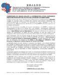 COMMUNIQUE DU REJADD RELATIF A L'INTERDICTION D'UNE CONFERENCE DEBAT DES ETUDIANTS DE L'UL PAR LES AUTORITES UNIVERSITAIRES.