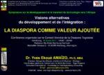Diaporama de l'Intervention de Dr Yves Ekoué Amaïzo au Symposium organisé par CMDT (conseil mondial de la Diaspora togolaise) à Hamburg