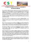 Déclaration liminaire de la conférence de presse conjointe CST / ARC-EN-CIEL