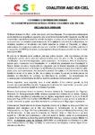 CONFERENCE DE PRESSE DES FEMMES  DU COLLECTIF SAUVONS LE TOGO ET DE LA COALITION ARC-EN-CIEL