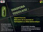 Diaspora togolaise apport financier 17avril 2013