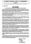 DECLARATION : Les mains assassines du régime de terreur RPT/UNIR/UFC viennent encore de frapper !